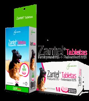 Zantel tabletas